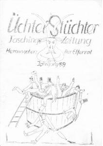 Scan der Original Zeitungen, Seite 1 (Henrik Gernert)